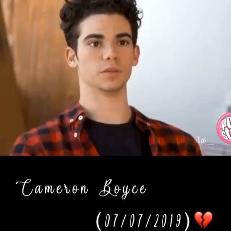 We all love u Cameron. U have been there through out my childhood which is still continueing. We will miss u, Cameron Boyce.😔💚💜💛💙