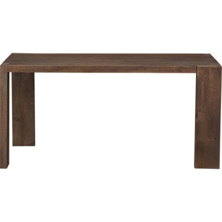 Blox 35x63 Dining Table Reviews Cb2 In 2020 Mango Wood Dining Table Unique Dining Room Table Wood Dining Table