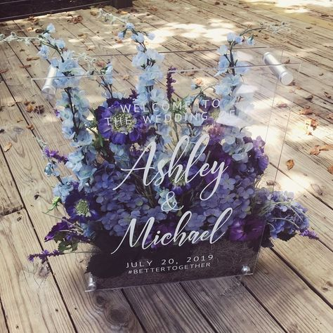 40 Stunning Wedding Welcome Sign Ideas For Your Big Day wedding decorations, wedding sign board, wedding decors Wedding Name, Diy Wedding, Dream Wedding, Wedding Bells, Fall Wedding, Wedding Ideas, Event Signage, Wedding Signage, Country Wedding Invitations