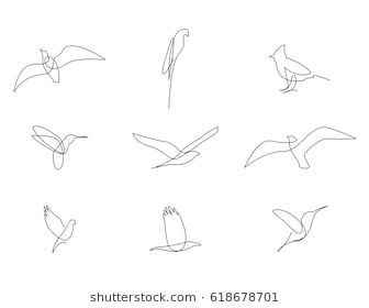 Bildergebnis Fur Single Line Tattoo Bird Single Line Drawing Line Tattoos One Line Tattoo