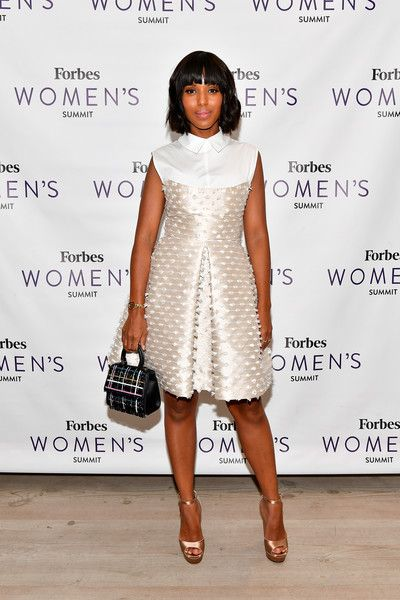 Kerry Washington attends the 2017 Forbes Women's Summit at Spring Studios on June 13, 2017 in New York City.
