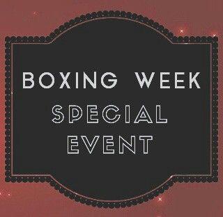 boxing calendars
