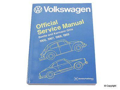 Details About Repair Manual Fits 1966 1969 Volkswagen Beetle Karmann Ghia Mfg Number Catalog Volkswagen Karmann Ghia Volkswagen Beetle