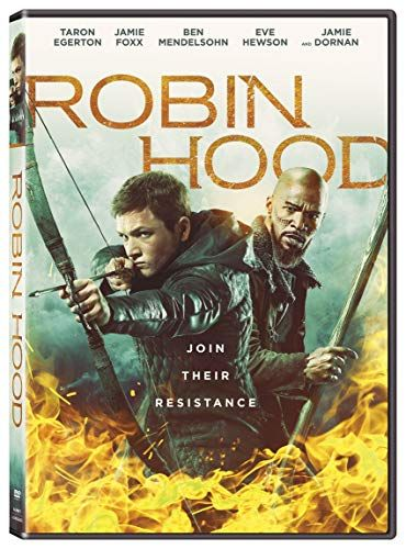Robin Hood Movie Taron Egerton Poster Art Silk Canvas Poster Print 24x36 inch