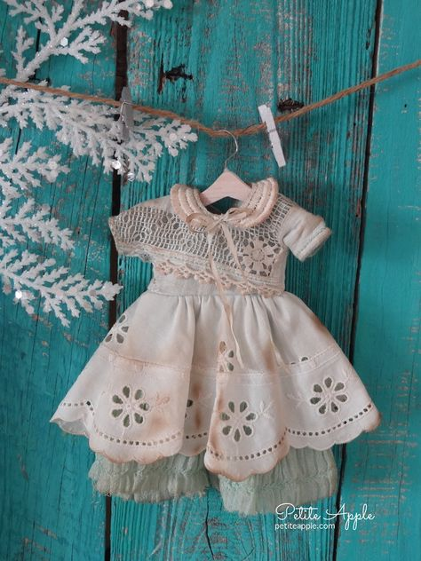 Specail dress made from vintage embroidered linen. All vintage fabrics and embroideries. Fine work throughout it. One of my cutest outfits ever.