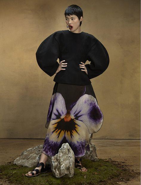 Make up Artist Nicola Brittin for Numero Russia. #editorial #fashionphotography #editorialmakeup