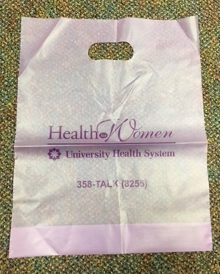 Health for Women - Transparent Purple Bag | Bags in 2018