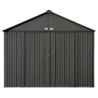 Lexington 10 Ft W X 13 5 Ft D Metal Storage Shed In 2020 Metal Storage Sheds Shed Storage Steel Storage Sheds