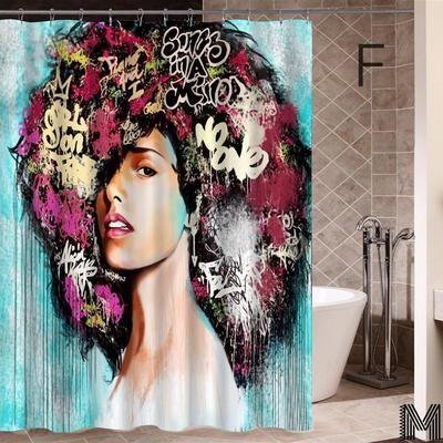 Melanin Women Shower Curtains Full Collection In 2020 Girls