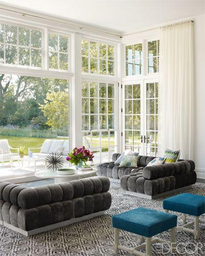 Hanynes Roberts Bridgehampton Home - Hamptons Interior Design - ELLE DECOR