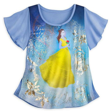 Disney Beauty and The Beast Belle T-Shirt Size L LF089 KK 19 #fashion #clothing #shoes #accessories #womensclothing #Beast #beauty #Belle #Disney #fashion #lf089 #shirt