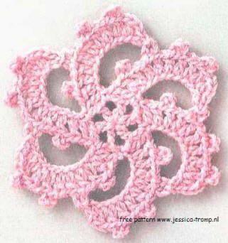 09 Bloemen Haken Patronen Gratis Haakpatronen Free Crochet Flower