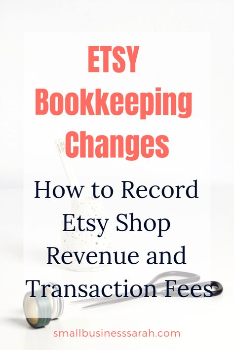 New Etsy Payment Account: How to Record Etsy Shop Revenue and Transaction Fees - Small Business Sarah