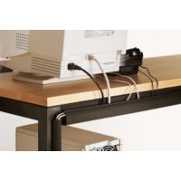 Keep your office furniture free from computer cords cord management system.