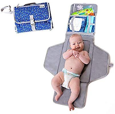 Amazon Com Baby Portable Changing Mat Lightweight Travel Diaper Station Kit With Waterproof Portable Baby Changing Pad Diaper Station Portable Changing Mat