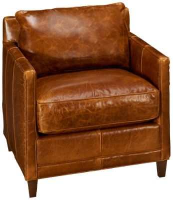 Rowe Springfield Rowe Springfield Leather Accent Chair   Jordanu0027s Furniture