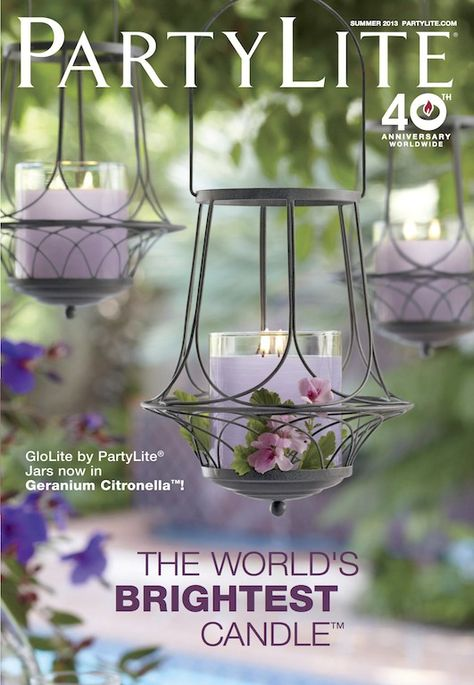 It's here! PartyLite Summer 2013 Catalog