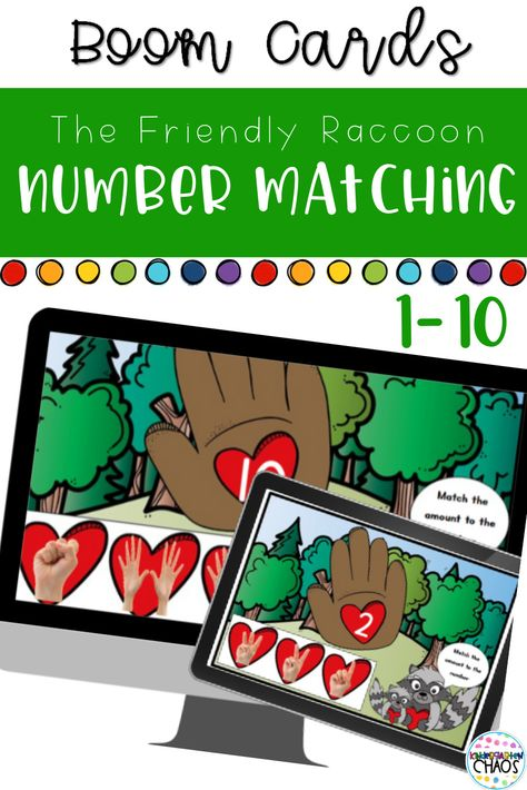 Digital Games to help with basic Kindergarten skills including letter recognition, number recognition and more. These are fantastic for virtual learning, homeschool, or to supplement in the classroom. #virtuallearning #boomcards #kindergartenskills #numberidentificationactivities