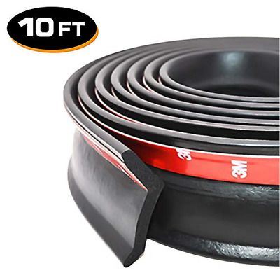 Advertisement 10ft Universal Garage Door Bottom Threshold Seal Strip Diy Weather Stripping In 2020 Garage Door Weather Seal Weather Stripping Garage Doors