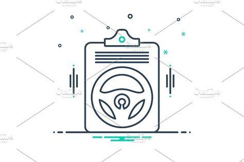 Auto insurance policy icon by Creativepriyanka   #auto #insurance #policy #icon