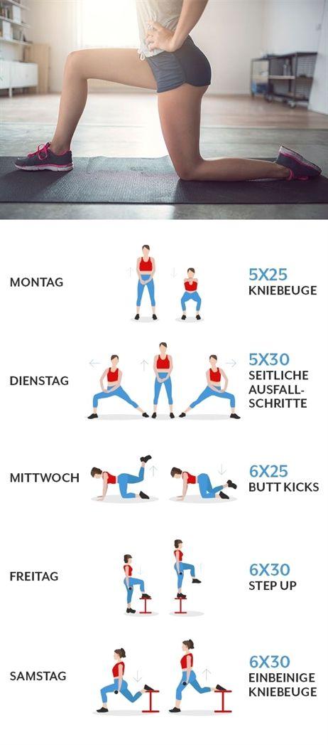 Diät und Übungen zum Abnehmen