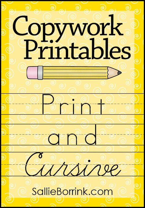 Copywork is a fantastic way to practice a variety of writing skills. Download engaging copywork from a variety of subjects - science, history, geography, holidays and more! Your children will love practicing handwriting with these fun printables.