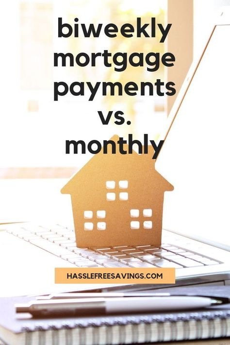 BiWeekly Mortgage Payments vs. Monthly