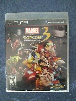 Marvel Vs Capcom 3 Fate Of Two Worlds Sony Playstation 3 2011 Marvel Movies Avengers Marvel Vs Marvel Vs Capcom Capcom