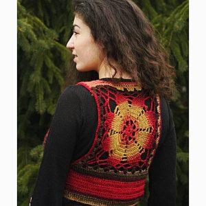 cc3b6cacf016e List of Pinterest sleeveless vest pattern crochet pictures ...