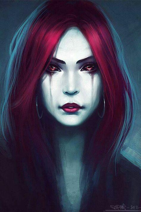 Cry the river of blood from thy eyes Vampires Pinterest - förde küchen kiel