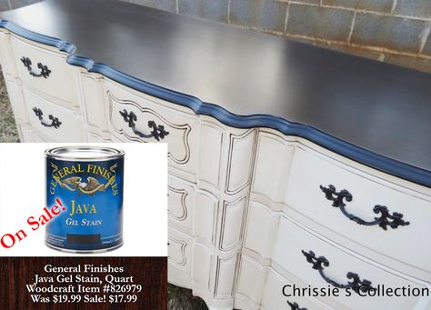 Java Gel is now ON SALE through May 30th, 2014,  http://bit.ly/1kSBqdU Dresser by Chrissie's Collection, http://bit.ly/1gidrnS