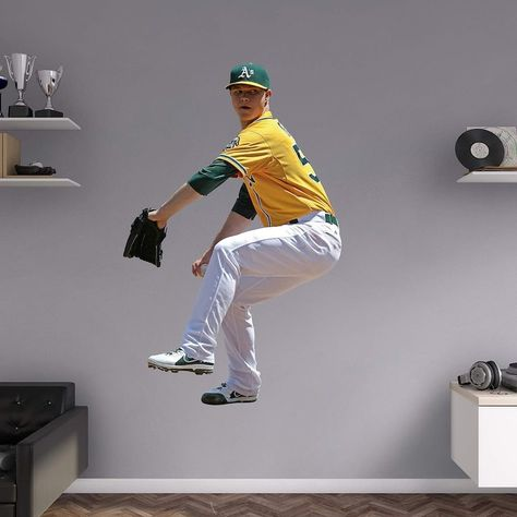 Oakland Athletics Sonny Gray Wall Decal by Fathead