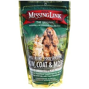 The Missing Link Skin Coat More For Dogs And Cats 1 Lb 454 G Discontinued Item With Images Nutrition Recipes Nutrition Cat Nutrition