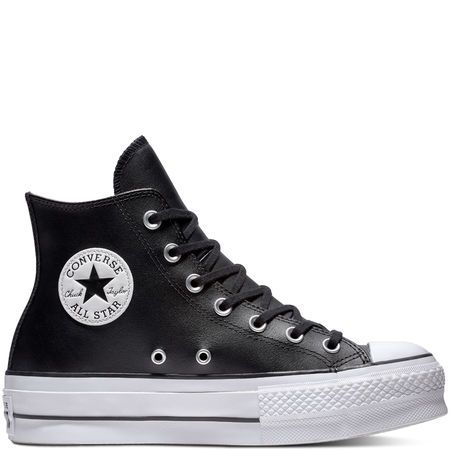 Chuck Taylor All Star Lift Leather High Top | Chuck taylors ...
