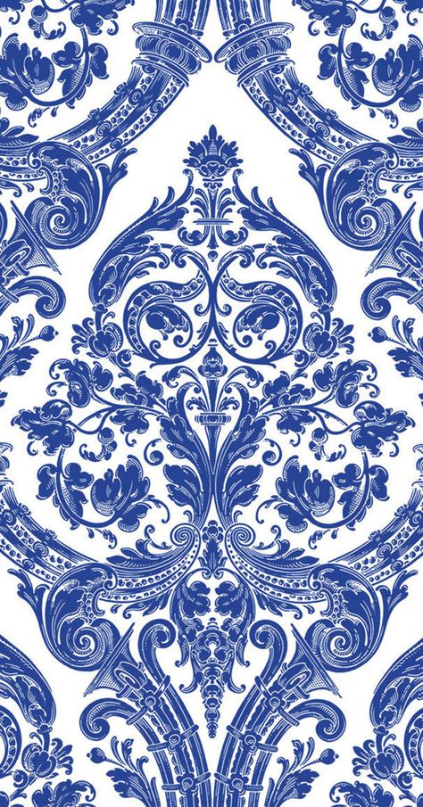 blue white brocade paper guest towel — MUSEUM OUTLETS