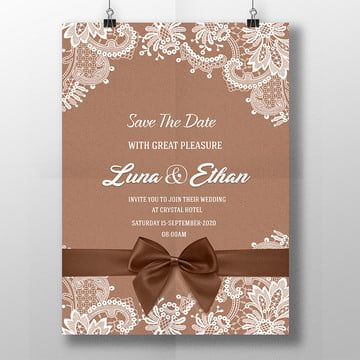 Vector Blue Lace Wedding Background In 2020 Vintage Wedding Invitation Cards Floral Wedding Invitation Card Copper Wedding Invitations