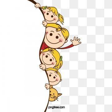 Sixty One Child Children S Day Boy Girl Children S Vector Cartoon Clip Art Kids Clipart Children S Day