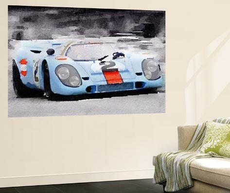 Home Decor Wall Art FREE SHIPPING Porsche 917 Poster Art
