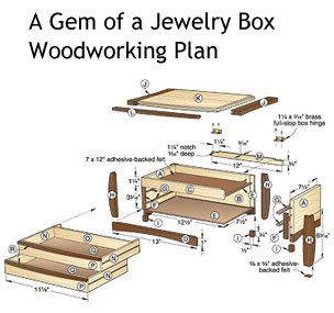 woodworking plans for jewelry box Google Search Woodworks