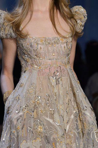 "the-fashion-dish: "" Elie Saab Haute Couture Fall 2015 Detail "" Fashion Details Couture Details, Haute Couture Style, Fashion Details, Couture Fashion, Runway Fashion, Fashion Design, Paris Fashion, Elie Saab Couture, Fashion Week"