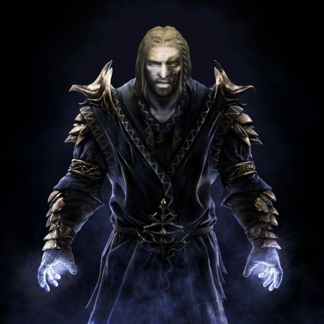 Here S My Try Of Compiling Miraak From Dragonborn S Cover And S One He Requested Making A Replacer For The Elder Scrolls V Skyrim Skyrim Skyrim Dragon Priest