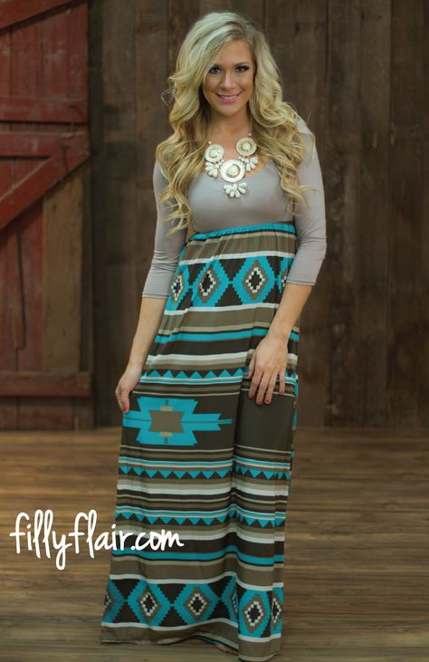 Game Changer Maxi in Mocha Filly Flair Modest outfits
