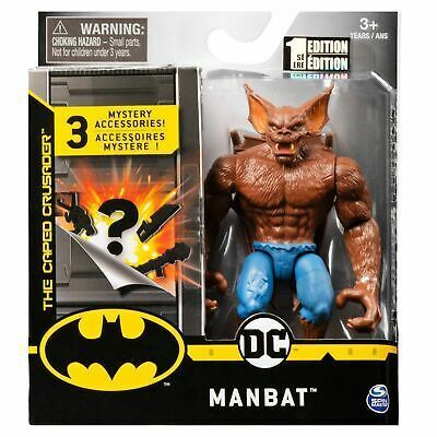 Batman Man Bat 4 Action Figure With 3 Mystery Batman Action Figures Create Your Own Superhero