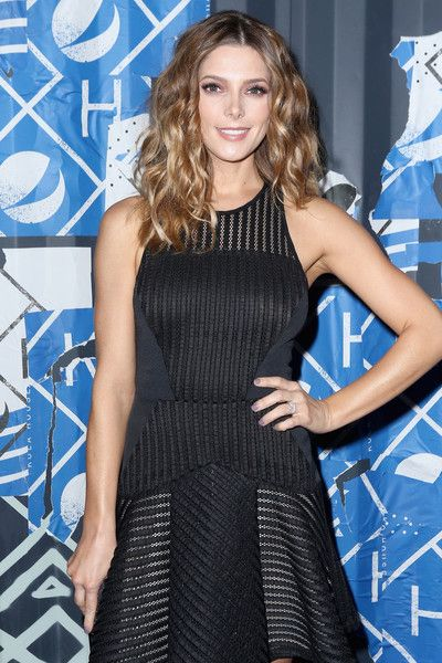 Actress Ashley Greene walks the Blue Carpet at the 2015 Pepsi Rookie of the Year Award Ceremony at Pepsi Super Friday Night at Pier 70 on February 5, 2016 in San Francisco, California.