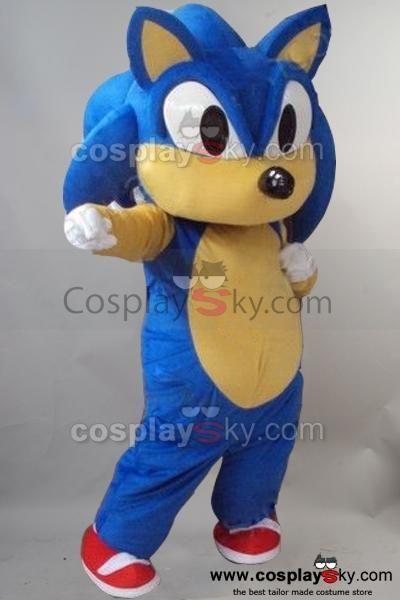 Sonic Hedgehog Mascot Costume Fancy Dress Outfit Affiliate Mascot Affiliate Hedgehog Sonic Costume Mascot Costumes Character Costumes Sonic Costume