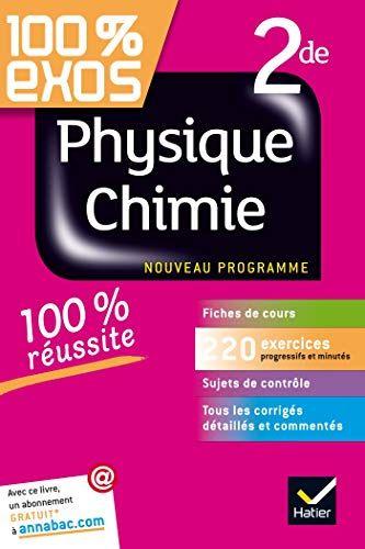 Telecharger Physique Chimie 2de Exercices Resolus Physique Et Chimie Seconde Francais Pdf Par Nathalie Benguigui Telecharger Votre Fichier Ebook Controle