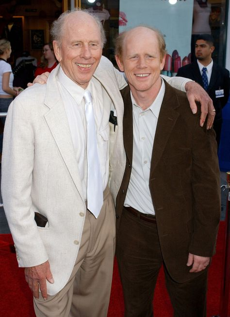Rance & Ron Howard (Now)Son: director, producer and former child actor