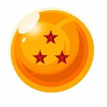 Three Star Dragon Ball Dragon Ball Tattoo Dragon Ball Dragon