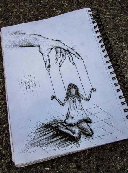 Pin By Abeerah Haq On Drawings In 2020 Dark Art Drawings Pencil Art Drawings Scary Drawings