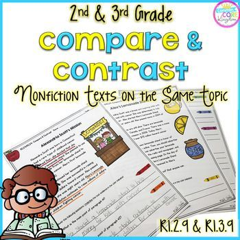 Compare and Contrast Informational Texts on the Same Topic